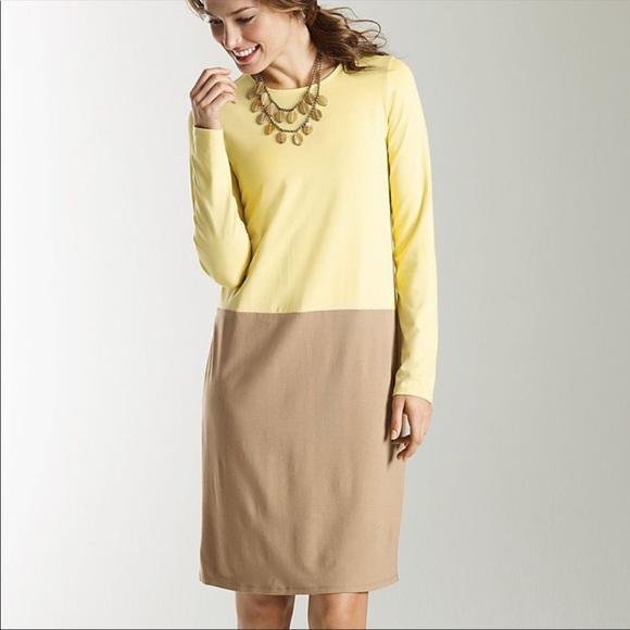 J. Jill Dresses & Skirts - J. JILL Color Block Square Stretch Shift Dress SM